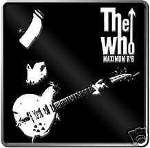 THE WHO ~ MAXIMUM R&B METAL BELT BUCKLE