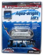 High Intensity BLUE LED Surface Mount Underwater Light 51089