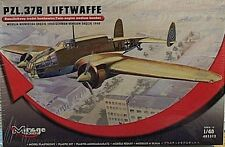 Mirage 1/48 PZL-37B Luftwaffe Twin Engine Medium Bomber 1940