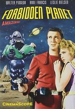 FORBIDDEN PLANET (1956 Walter Pidgeon)  -  DVD - REGION 1 sealed