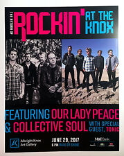 Our Lady Peace, Collective Soul, Tonic - Double Sided Concert Poster