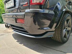2006-2010 Jeep Cherokee WK1 SRT8 rear bumper's FRP fangs