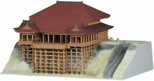 Fujimi Kiyomizu temple 1/400 Plastic modelkit Japanese temple 4968728500256