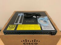 Cisco WS-C4948-10GE-S 48 Port Gigabit +10GB Switch w/ X2-10GB-SR Dual AC 15.0 OS