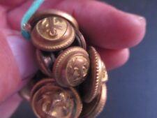 t2 12 boutons de marine ww2 pour costume ou autre 3 types ou taille differents