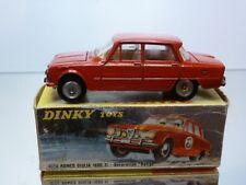 DINKY TOYS 1401 ALFA ROMEO GIULIA 1600 TI - RED 1:43 - GOOD CONDITION IN BOX