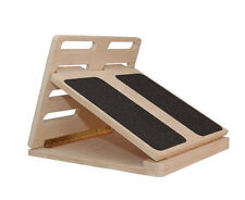 Slant Board Calf Stretcher as used in the Egoscue Method.  Free shipping  no tax