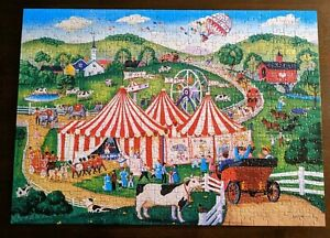 Master Pieces Signature Collection 500 Piece Jolly Time Circus Jigsaw Puzzle