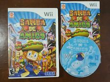VGC  Samba de Amigo - Nintendo  Wii - w/ case, coverart and manual!