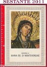 592 SANTINO HOLY CARD MARIA SS. DI MONTEVERGINE NOVENA