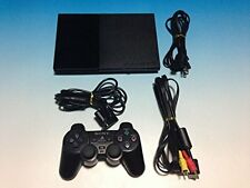 USED PlayStation 2 SCPH-90000CB Black from Japan Free Shipping