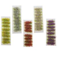 Ciuffi di Fiori Statici per Diorama, Wargaming, Miniature