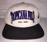 Vtg Tampa Bay Devil Rays Tropicana Field Snapback hat cap rare 90s nwt MLB og
