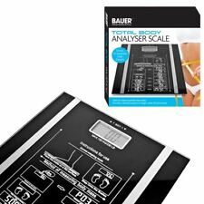 Bauer Digital Body Fat Analyser Weighing Bathroom Scales Weighing