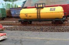 N, model power custom painted Maine central tank,added MT's,metal wheels,#819