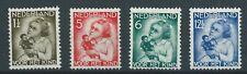 1934TG Nederland Kinserzegels NR.270-273 postfris, mooie serie's .