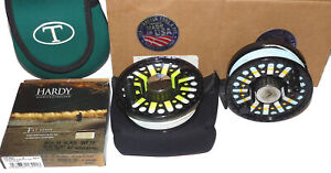 """Tibor reel by Ted Juracsik """"The Riptide QC"""" saltwater fly reel & spare spool,..."""