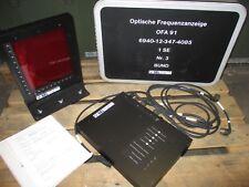 Bundeswehr Funk SEM 91 SEL optische Frequenzanzeige
