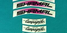 CAMPAGNOLO SHAMAL REPLACEMENT RIM DECAL SET  FOR ONE RIM !!!