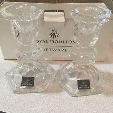 Royal Doulton  Keswick Candlestick Pair