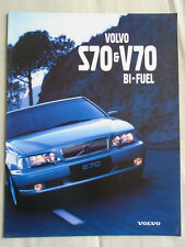 Volvo S70/V70 Bi-fuel brochure 1998 French text