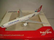 "Herpa Wings 500 Turkish Airlines TK B777-300ER ""2008s color - Marmara"" 1:500 NG"