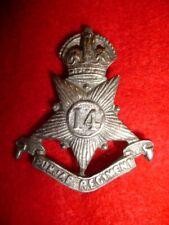 14th Punjab Regiment Indian Army KC Cap Badge, (ex-POW Veteran bring-back)
