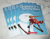Sneezy the Snowman Maureen Wright (Set of 5, Reading Level L) Brand New Teachers