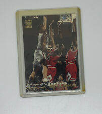 1993-94 John Starks The Dunk Over Michael Jordan Stadium Club #116 Knicks Bulls