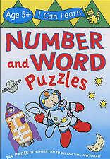 Number and Word Puzzles Age 5+ by Egmont UK Ltd (Paperback) New Book