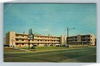 Springfield IL, Travel Lodge Street View Swimming Pool Chrome Illinois Postcard