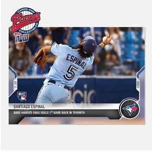 Santiago Espinal RC - 2021 MLB TOPPS NOW Card 583 Presale