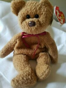 Ty Original Beanie Baby Curly with Multiple Errors RARE! 1993/1996 Retired PVC