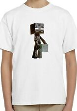 Funko Pop Minecraft Enderman Holiday Kids Unisex Top Birthday Gift T-Shirt 181
