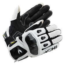 RS Taichi RST410 Mens Perforated leather Motorcycle Mesh White+ Black XL Gloves