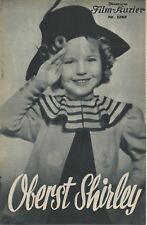 IFK: 1268: Oberst Shirley ( Annie Fellows J. ) Shirley Temple, Lionel Barrymore,