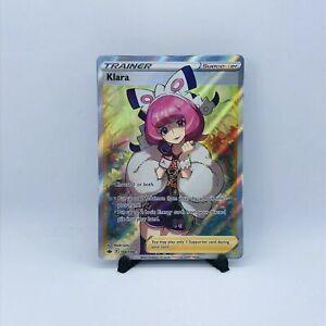 Pokemon TCG Chilling Reign - Klara - Full Art Ultra Rare - 194/198 NM -Mint
