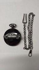 Triumph 2000 Mk1 Saloon ref263 emblem on polished black case mens pocket watch
