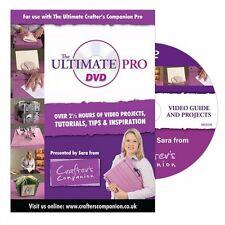Crafters Companion Ultimate Pro TUTORIAL DVD-Oltre 2.5hrs di Tips & ispirazione