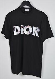 Authentic Dior T-shirt Daniel Arsham Logo Black
