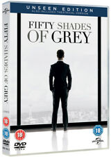 Fifty Shades of Grey - The Unseen Edition DVD (2015) Jamie Dornan