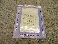 Microscale decals N 60-873 Tractor Striping May Trucking tractors 1989+  D18