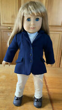 American Girl doll Kirsten with Equestrian and Ballet outfits - blonde,blue eyes