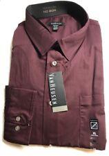 Men's Van Heusen Long Sleeves Dress Shirts Premium No Iron XL17-17.5  $54