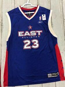 LeBron James Reebok NBA All Star East Swingman Jersey Men's Large