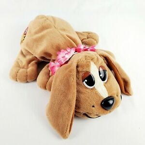 "Pound Puppies Hawaiian Hawaii Puppy Dog 13"" Plush Stuffed Animal Toy Mattel 2004"