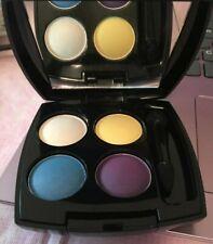 Avon True Color Eye Shadow Quad ~ Fantasyland ~Purple Yellow Blue Ivory ~ No Box