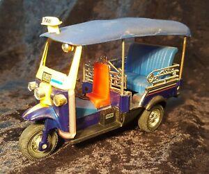 "TUK TUK Taxi Trike Souvenir Model 5""/12.5cm Thailand Bangkok Holiday Memories"
