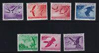 Liechtenstein Sc #C17-23 (1939) Birds Airmail Set Mint VF NH MNH