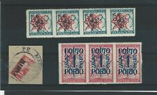 Joegoslavie / Slovenie apart w.o gehalveerd zegel op briefstukje